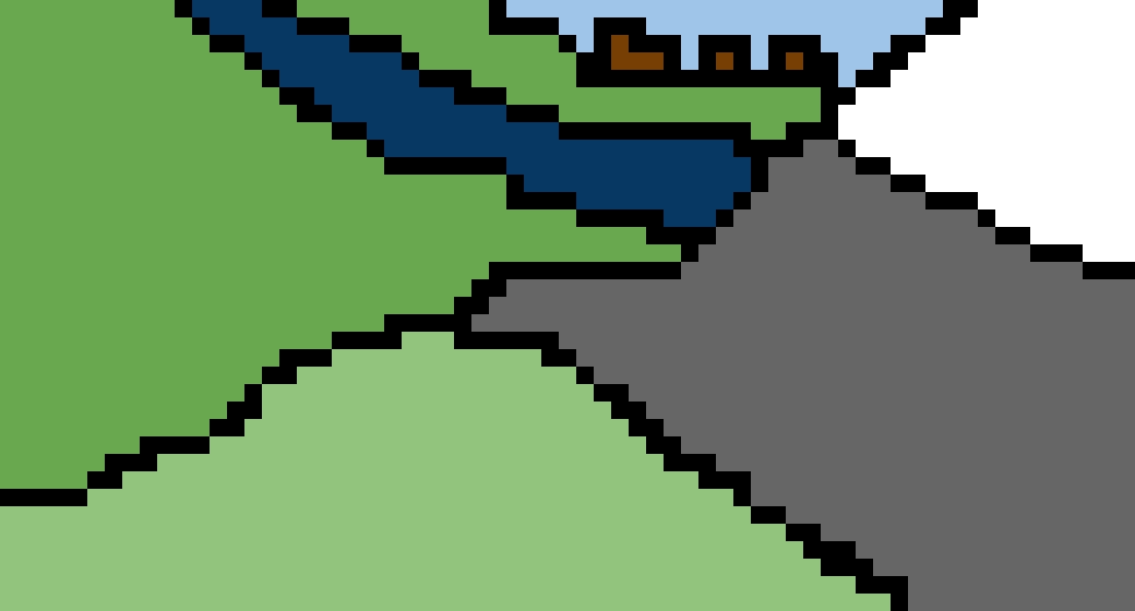 Random landscape (it's for art class LOL )