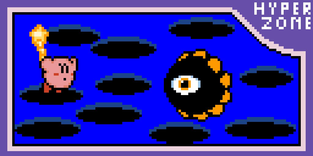 Vs. Dark Matter (Hyper Zone 1) (Kirby's Dream Land 3)