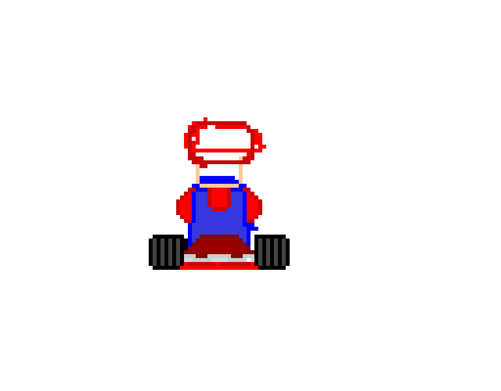 (Unfinished) Mario kart mario