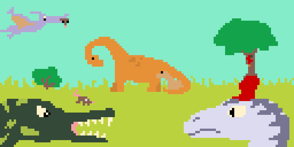 Amazing Dino World ( I left edit on if you want it as a background for your computer!)