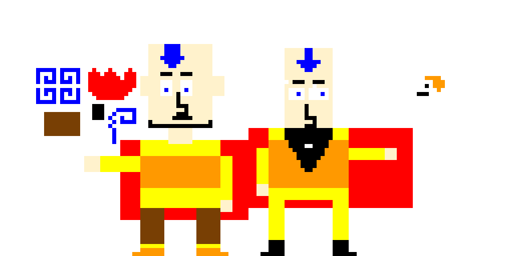 avatar aang and tenzin
