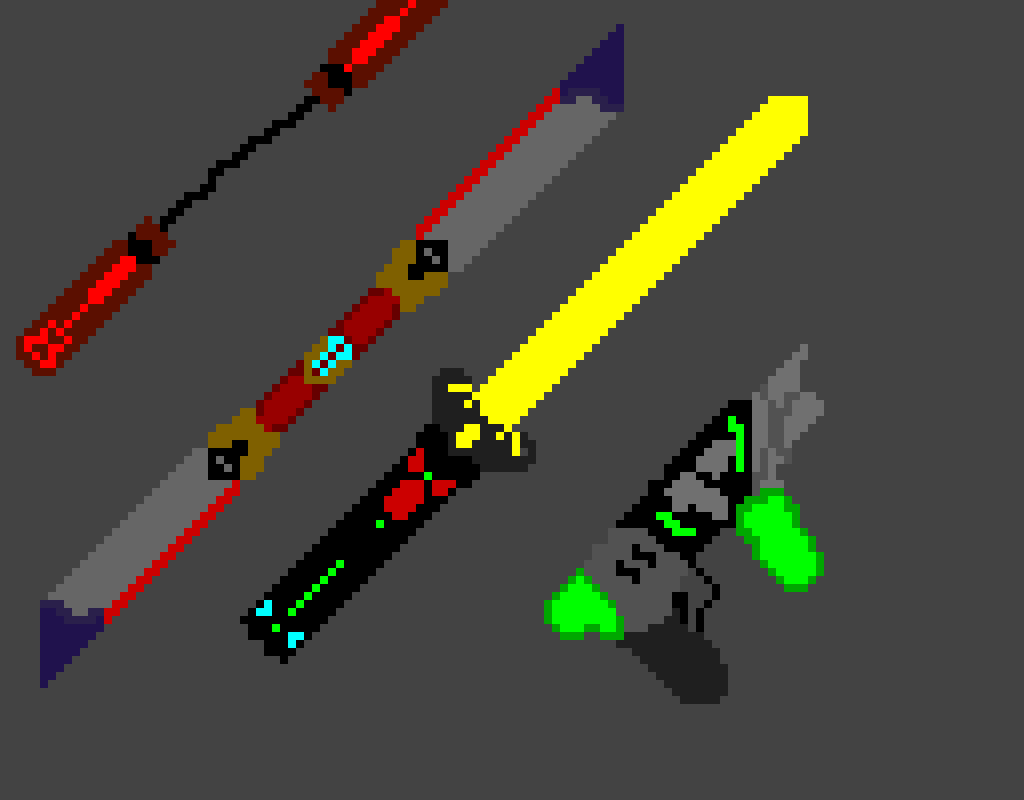 Dark Side Weapons