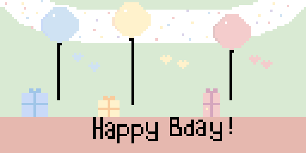 Happy bday to you! :)