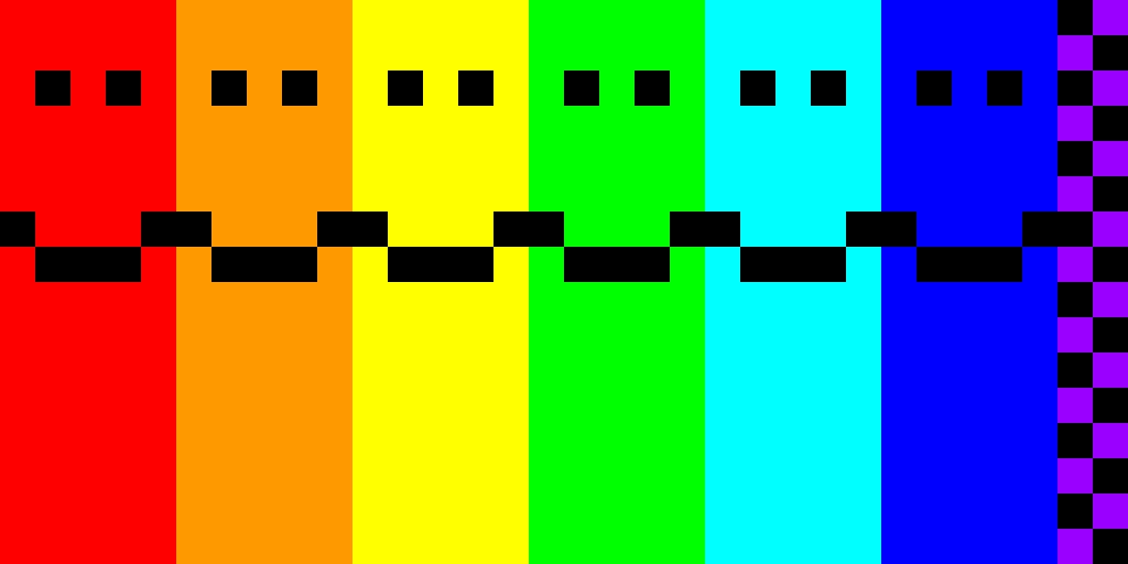 l'arcobaleno di sorrisi