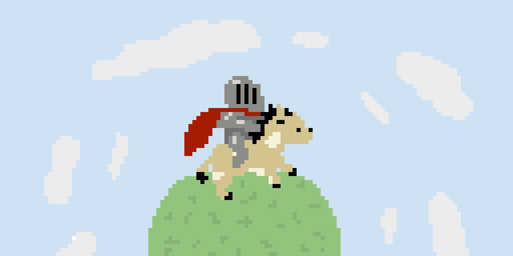 Onward, My Valiant Steed! (If This Gets 15 Likes I'll Animate It -_-)
