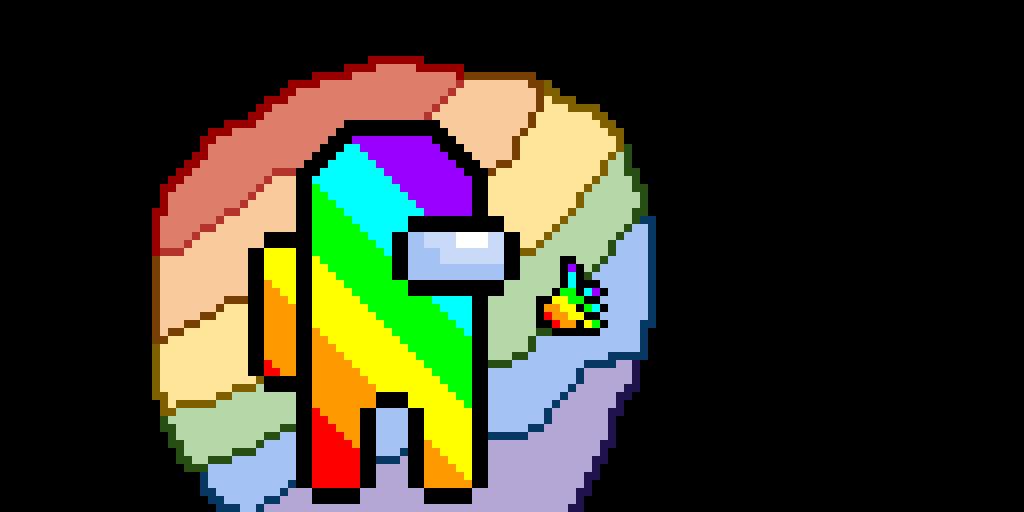 Rainbow Crewmate