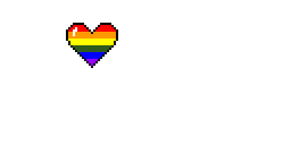 Rainbow heart.( Arielle are we going to get that drawing contest going?)