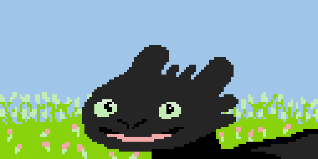 Toothless (I FInally Made Him!!!)
