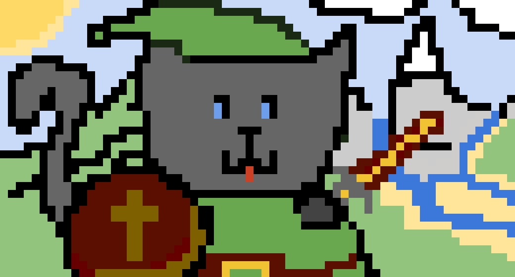 Cat zelda