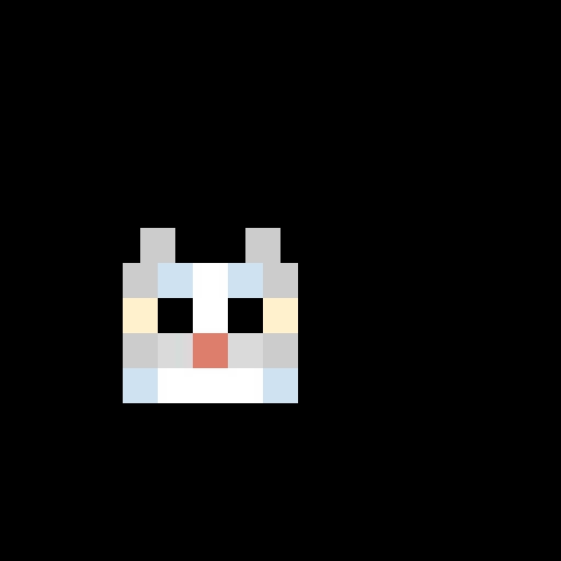 minecraft gray cat