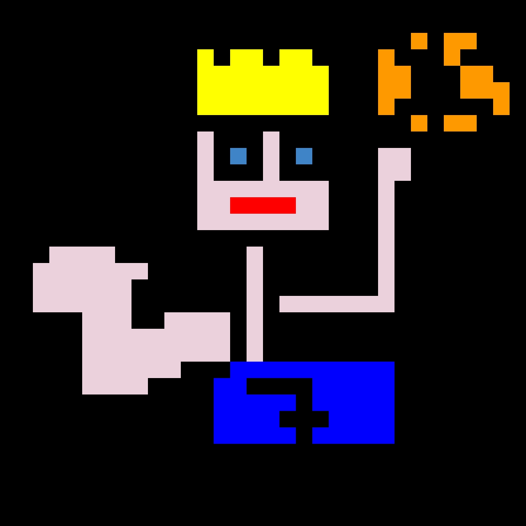 basket giocatore pixel art