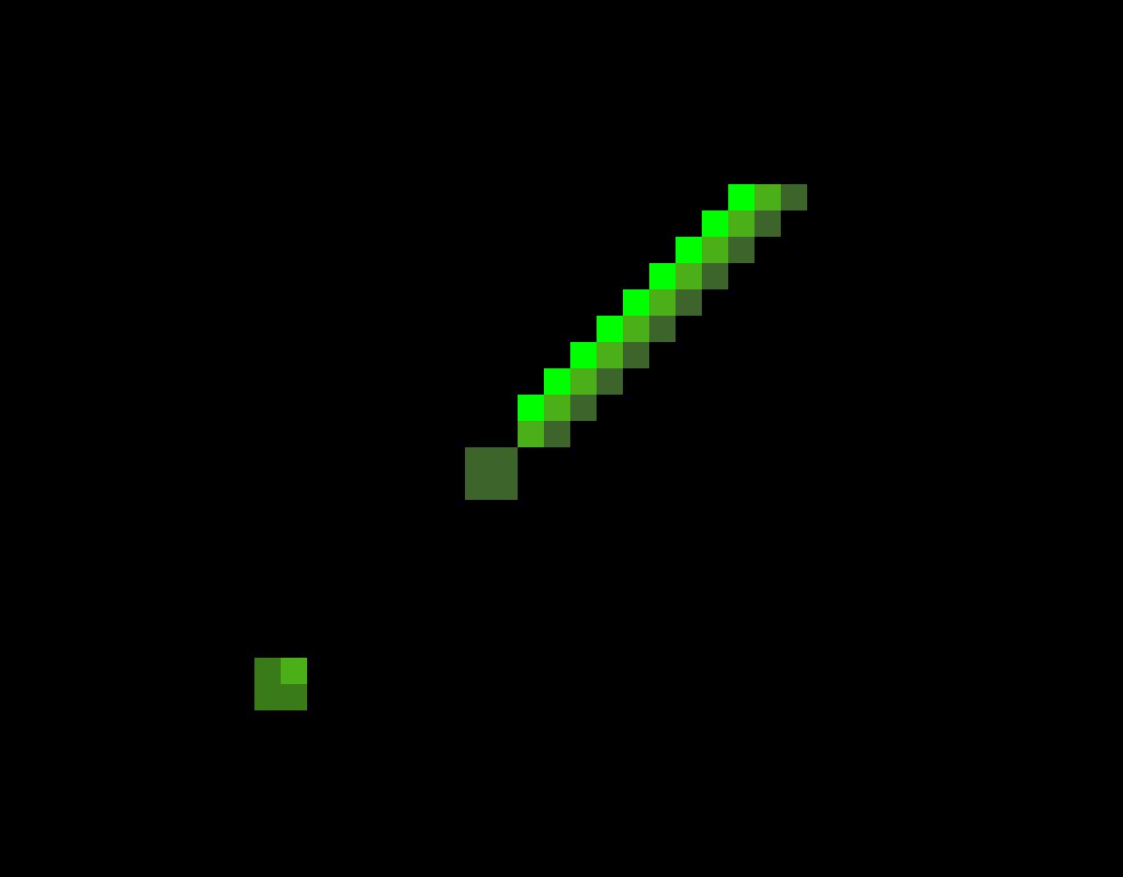 Green Diamond sword