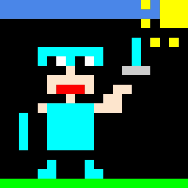 minecraft personaggio