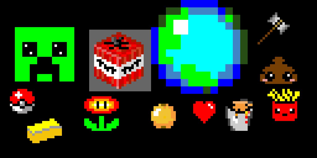 random pixel art stuffs