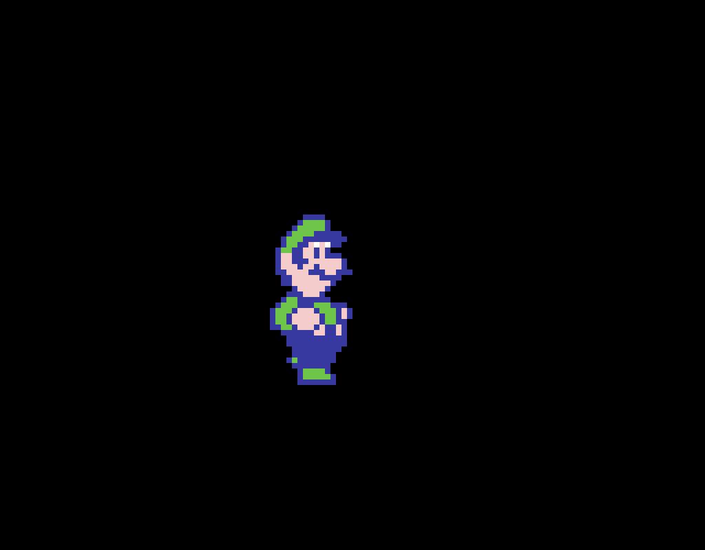 SMB2 Luigi