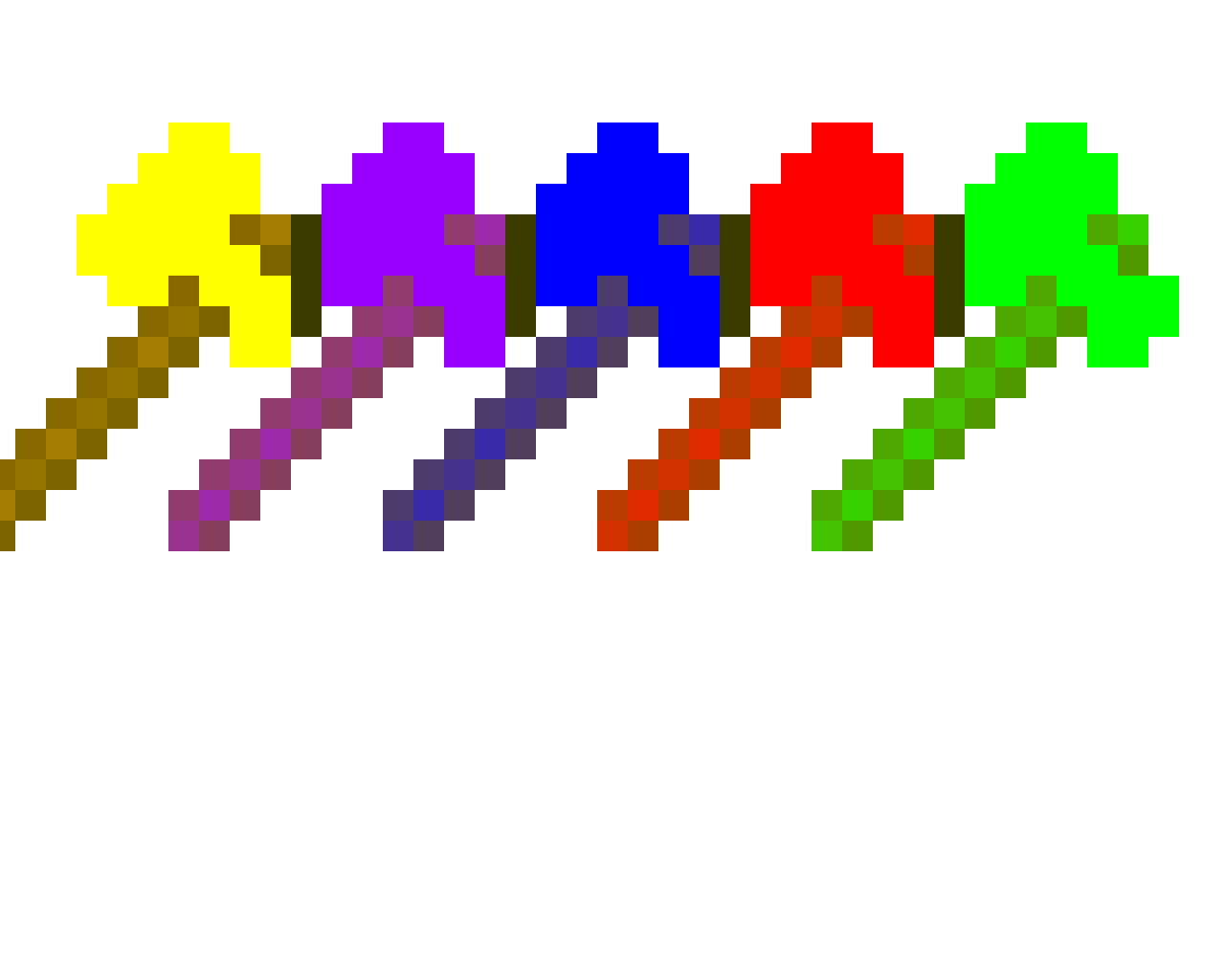 Colorful axes (SOOOO easy)