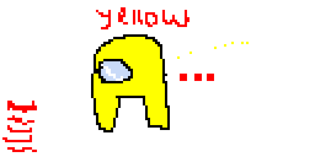everybody left the game.. poor yellow.