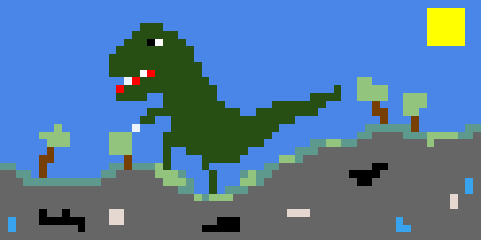Minecraft mod with Dino