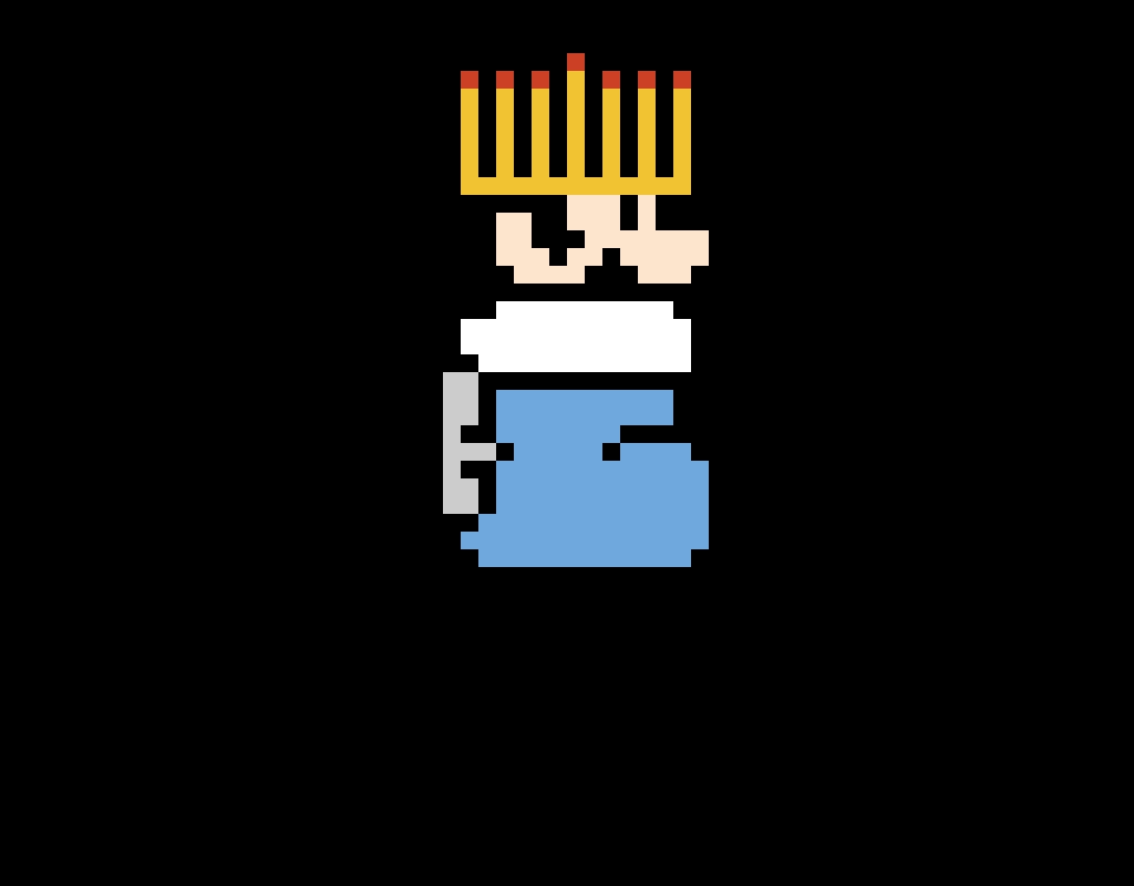 Hanukkah Mario
