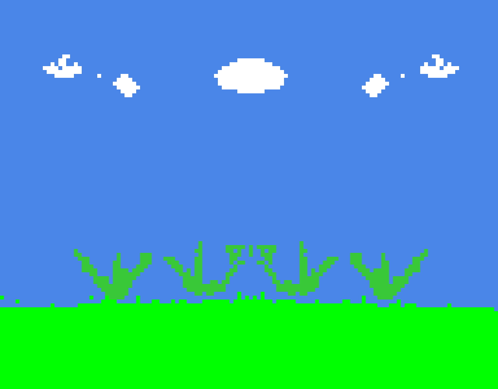 added clouds