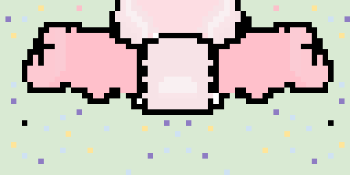 bunny tail <3 i getting back into pixel art! i just wanted to upload quick XD