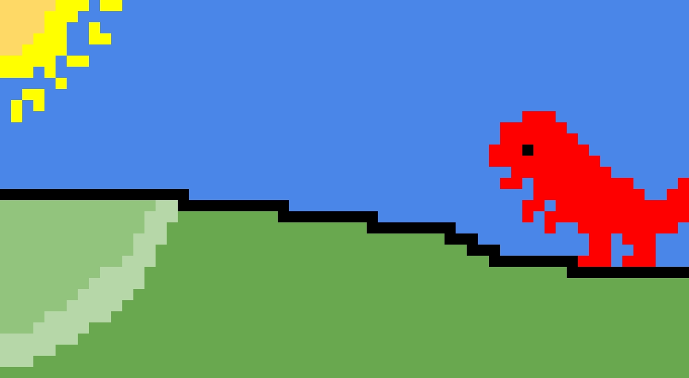 Dino mod in Minecraft 2.0