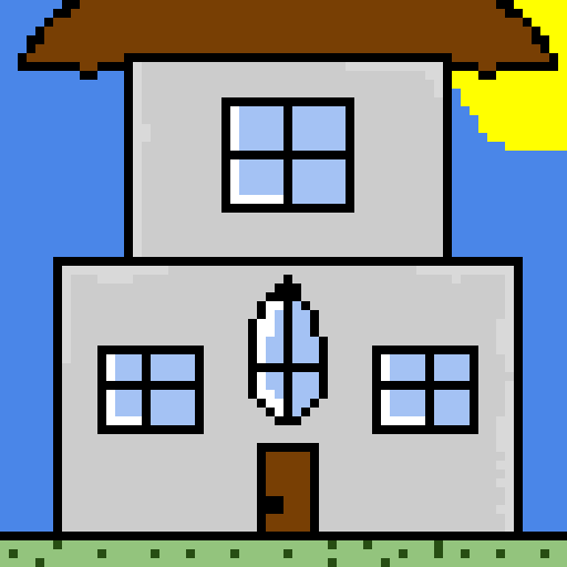 i dont know why i drew a house