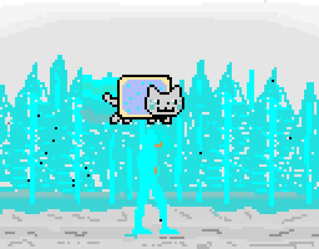 my art of a frozen wonderland(contest)