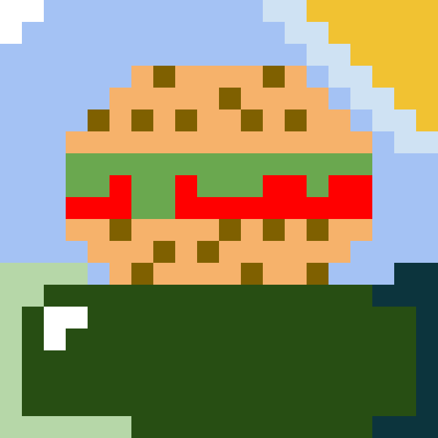Nature burger