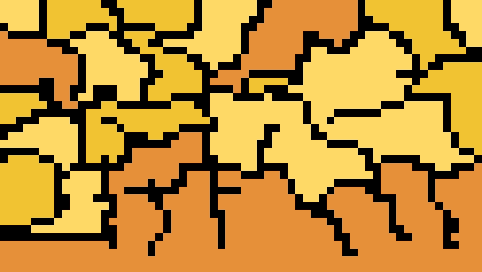 Orange and yellow camo