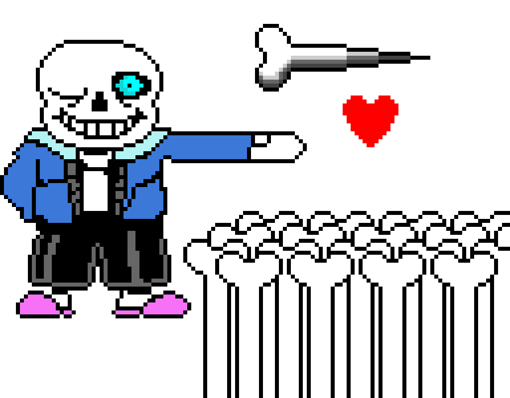 Sans (Hand Copied Image from Online Sorry ;-;)