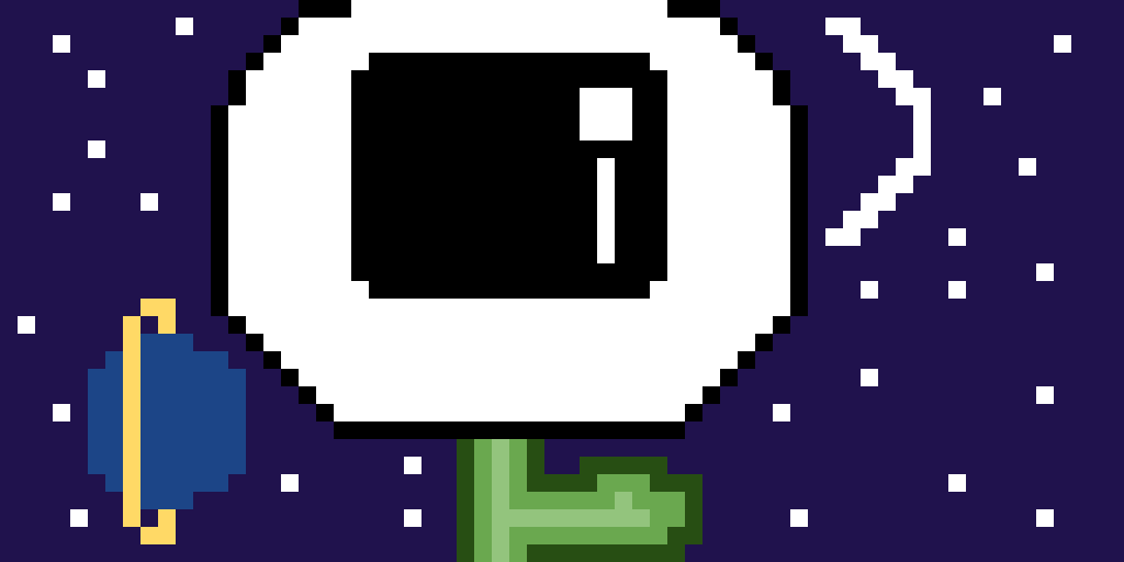 Space flower. (Contest)