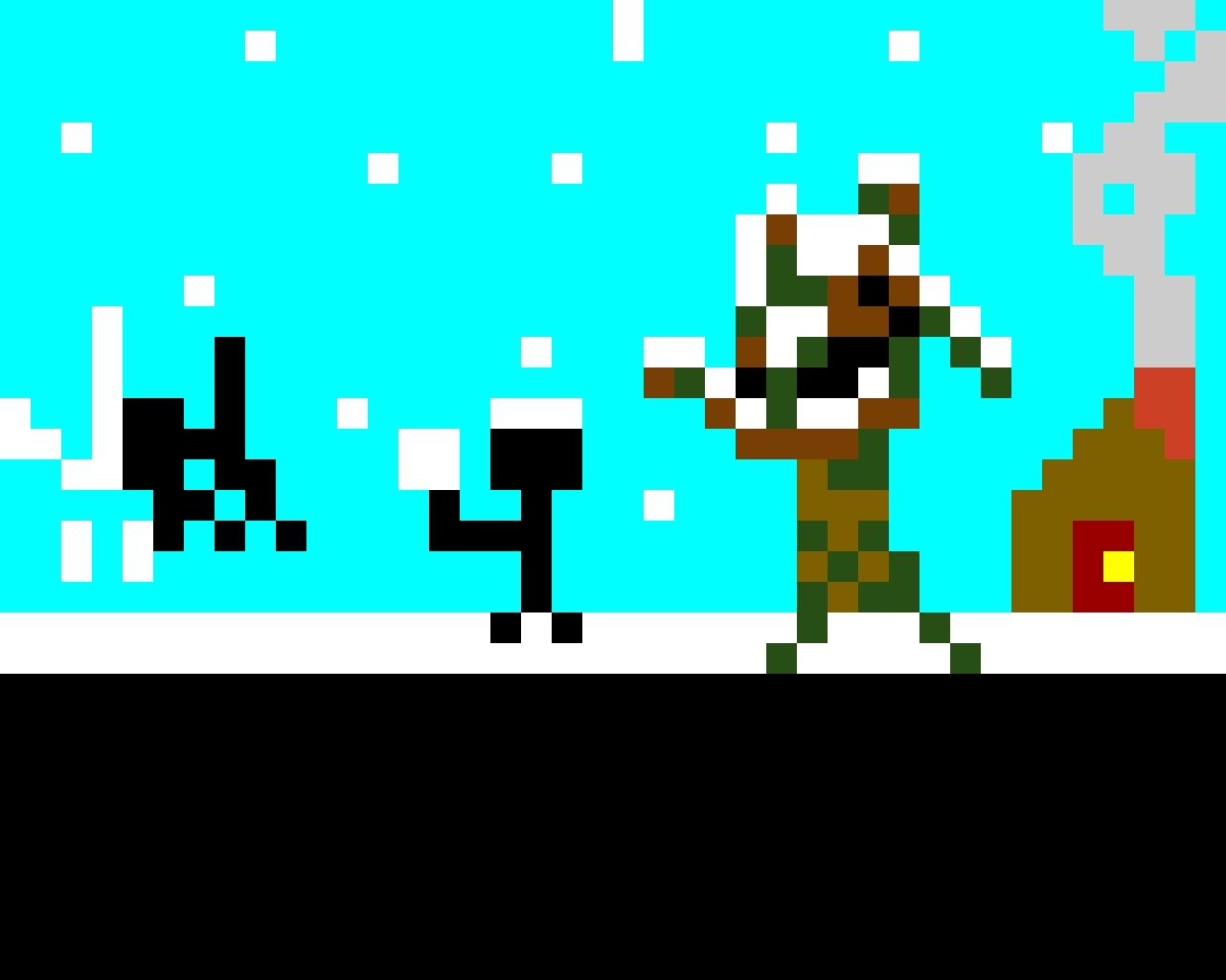 Winter Snowball fight (contest)