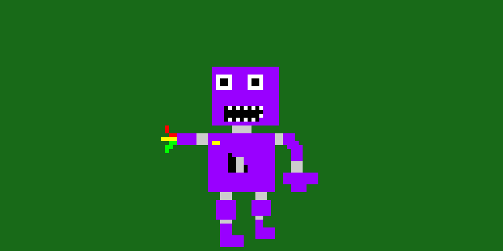 withered purple guy (animatronic version) (ten likes for normal purple guy animatronic)